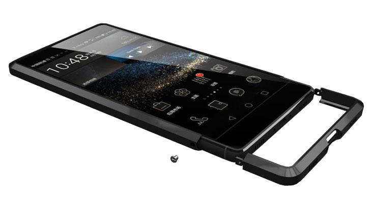 Luphie Huawei P8 Lite Aluminium Bumper - Black