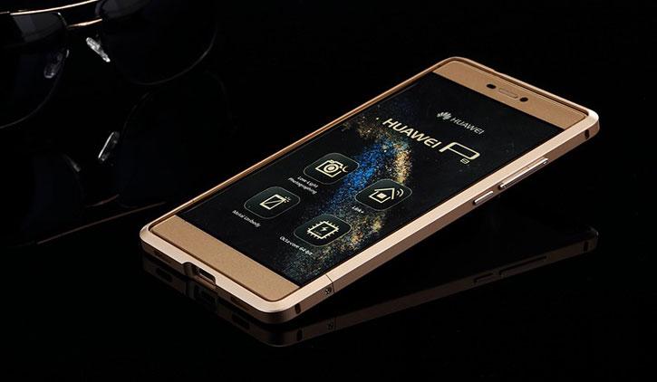Luphie Blade Sword Huawei P8 Lite Aluminium Bumper - Rose Gold