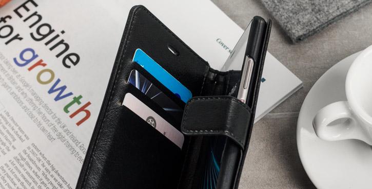 Olixar Huawei P9 Plus Wallet Case - Black