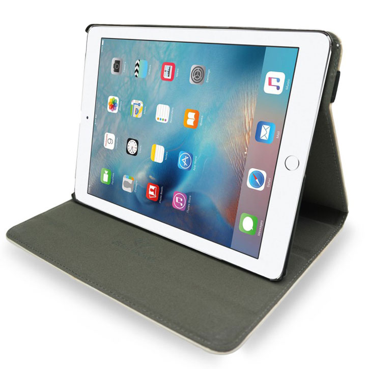 Create and Case iPad Pro 9.7 Inch Leather-Style Case - Gym Lion