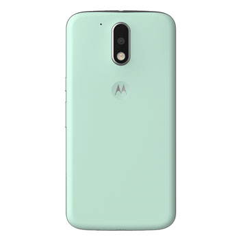 the latest 25d96 e02f5 Official Moto G4 Plus Shell Replacement Back Cover - Foam Green