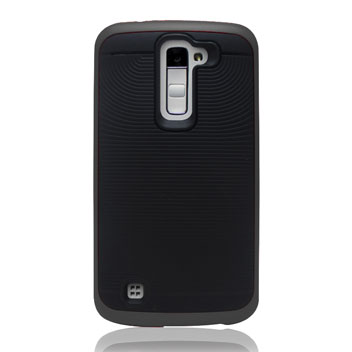 Zizo Hybrid Bumper LG Stylus 2 Tough Case - Black