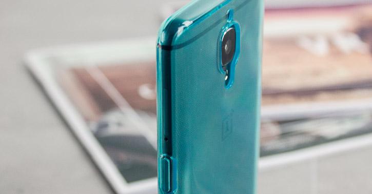 new products 18c09 c4d02 Olixar FlexiShield OnePlus 3T / 3 Gel Case - Blue