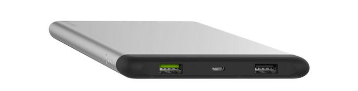 Mophie PowerStation 8X Dual USB 15,000mAh Power Bank - Aluminium