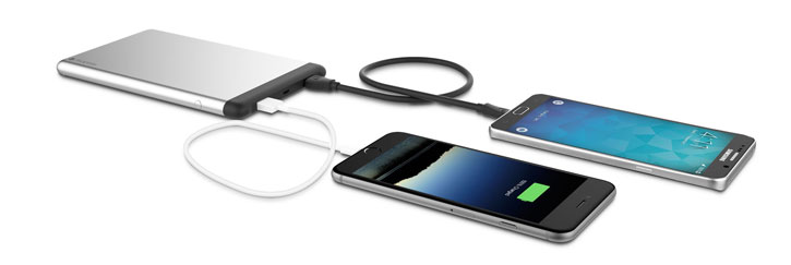 Mophie PowerStation 8X Dual USB 15,000mAh Power Bank - Aluminium