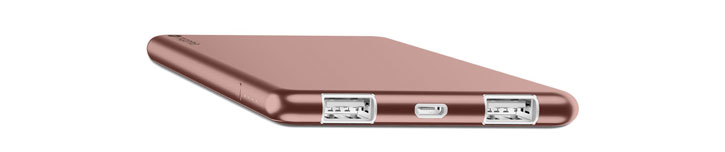Mophie PowerStation 3X Dual USB Power Bankn 6000mAh - Rose Gold