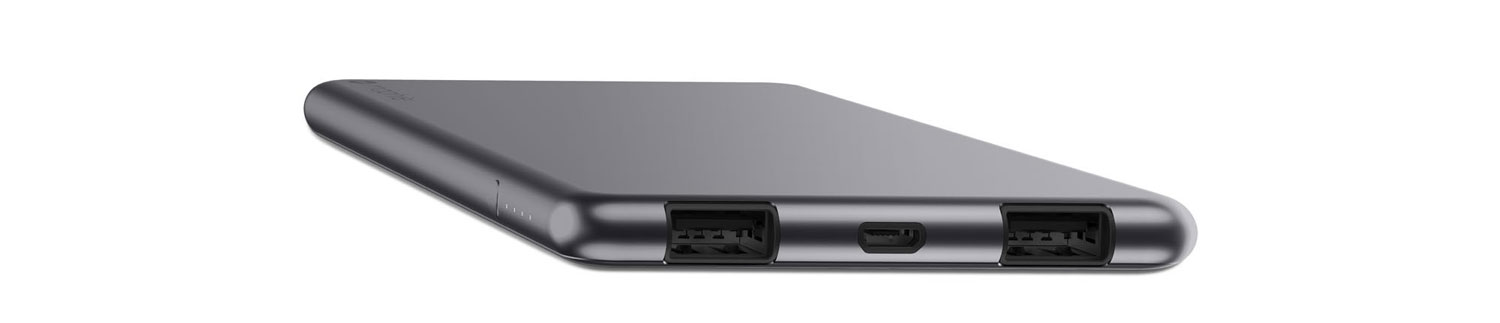 Mophie PowerStation 3X Dual USB Power Bankn 6000mAh - Space Grey