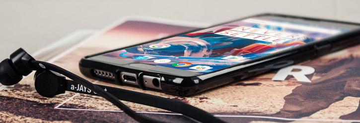 Olixar FlexiShield OnePlus 3 Gel Case - Solid Black