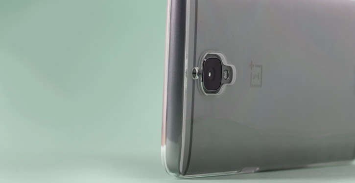 Olixar FlexiShield OnePlus 3 Gel Case - 100% Clear