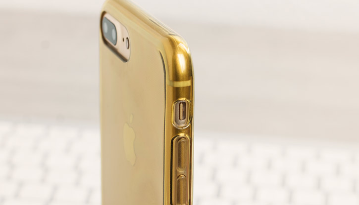 FlexiShield iPhone 7 Plus Gel Case - Gold