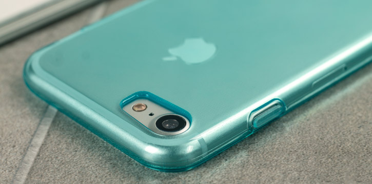 FlexiShield iPhone 7 Gel Case - Blue