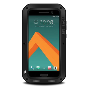 Love Mei Powerful HTC 10 Protective Case - Black