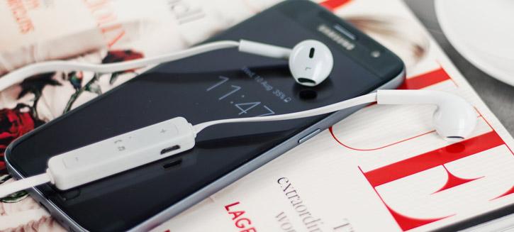 Écouteurs Bluetooth Plug N Go Mains libres – Blanc