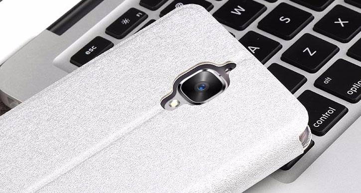 MOFi Slim Flip OnePlus 3 Case - Silver