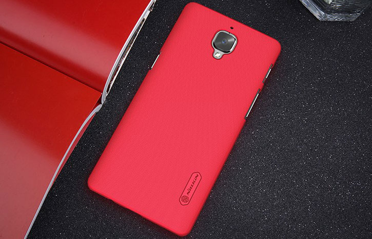 Nillkin Super Frosted Shield OnePlus 3 Case - Red