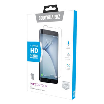 BodyGuardz Ultra Tough Samsung Galaxy Note 7 Screen Protector