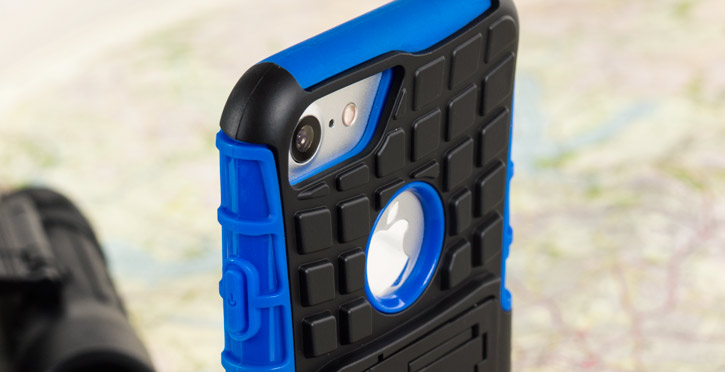 Olixar ArmourDillo iPhone 7 Protective Case - Blue
