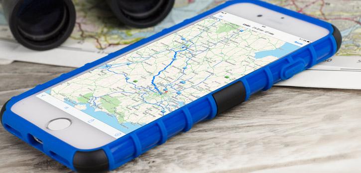 Olixar ArmourDillo iPhone 8 / 7 Protective Case - Blue