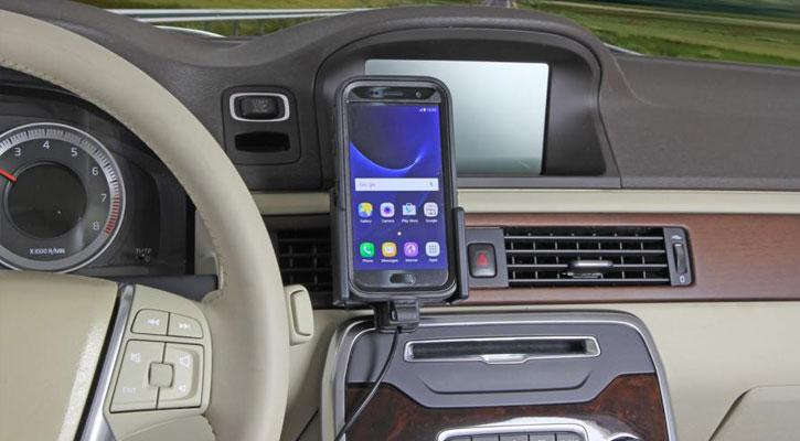 Brodit Active Holder Samsung Galaxy S7 Case Compatible & Tilt Swivel