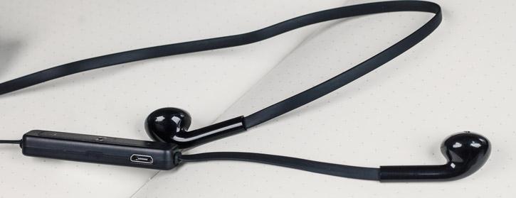 Écouteurs Bluetooth Plug N Go Mains libres – Noir
