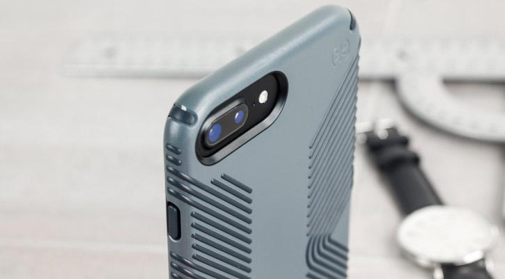 Speck Presidio Grip iPhone 7 Plus Tough Case - Grey