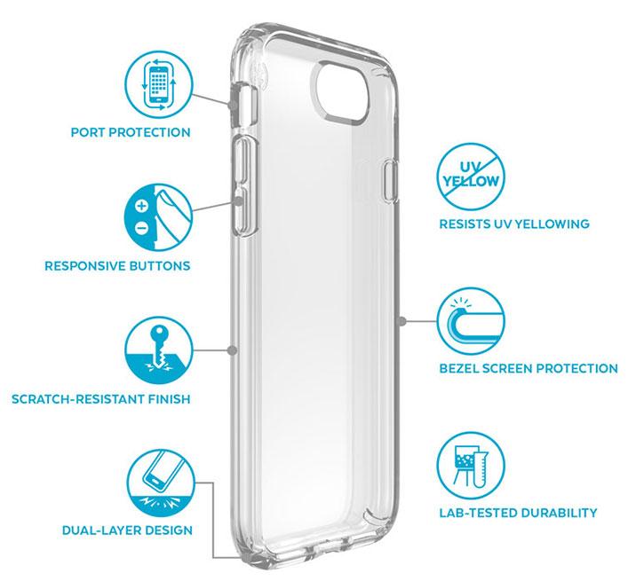 Speck Presidio iPhone 7 Tough Case - Clear