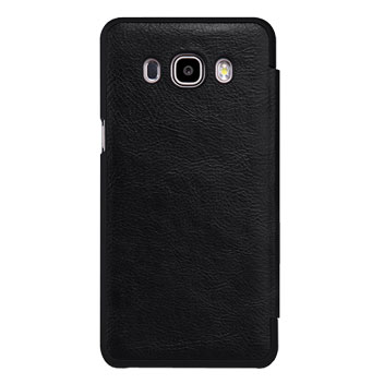 Nillkin Qin Real Leather Samsung Galaxy J5 2016 Window Case - Black
