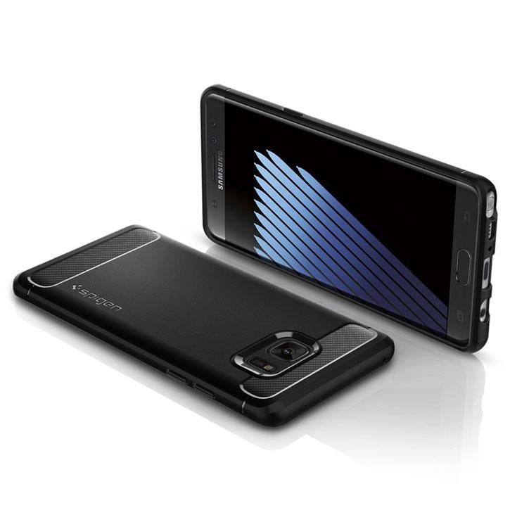 Spigen Rugged Armor Samsung Galaxy Note 7 Tough Case - Black