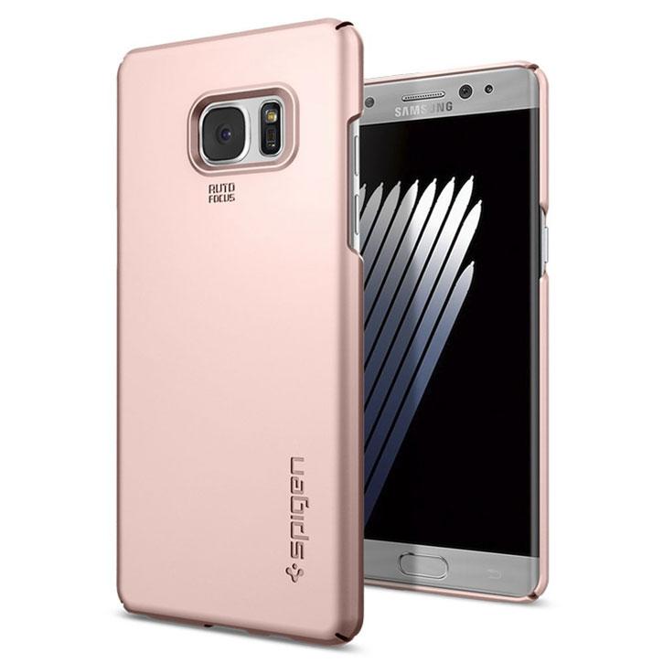 Spigen Thin Fit Samsung Galaxy Note 7 Case - Rose Gold