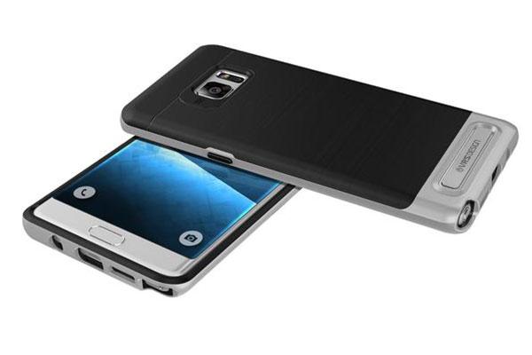 VRS Design High Pro Shield Samsung Galaxy Note 7 Case - Light Silver