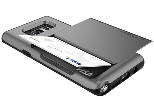 VRS Design Damda Glide Samsung Galaxy Note 7 Case - Dark Silver