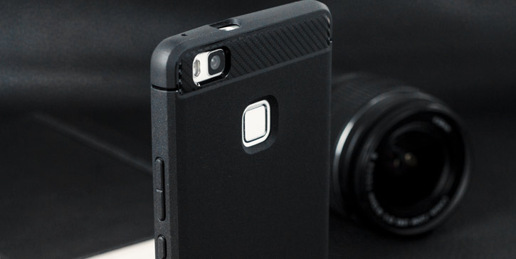 Spigen Rugged Armor Huawei P9 Lite Tough Case - Black
