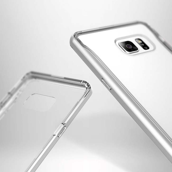 Caseology Skyfall Series Samsung Galaxy Note 7 Case - Silver / Clear