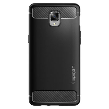 Spigen Rugged Armor OnePlus 3 Tough Case - Black