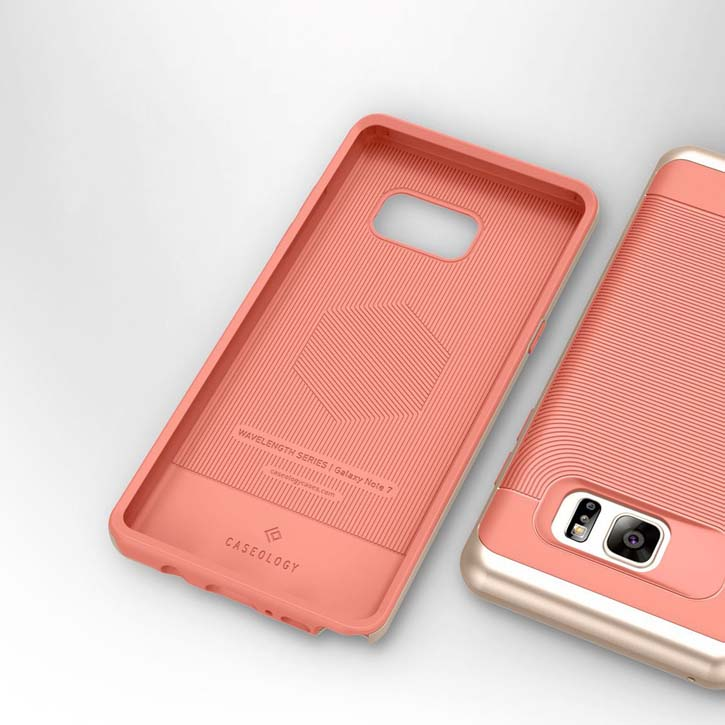 Caseology Wavelength Series Samsung Galaxy Note 7 Case - Coral Pink