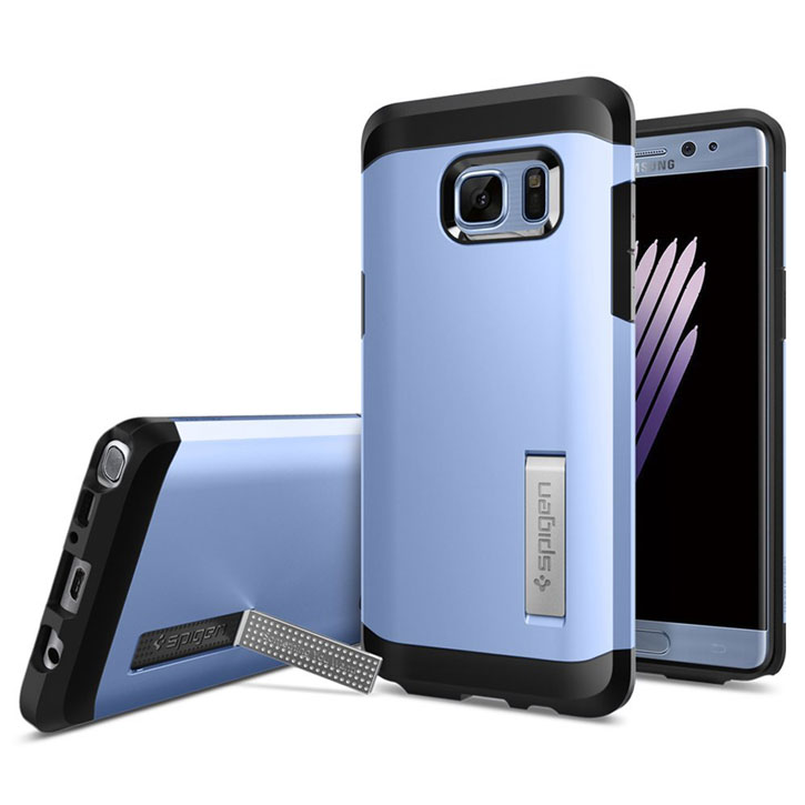 Spigen Tough Armor Samsung Galaxy Note 7 Case  - Coral Blue