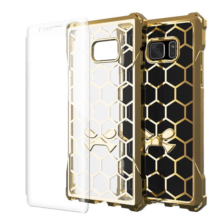 Ghostek Covert Samsung Galaxy Note 7 Bumper Case - Clear / Gold