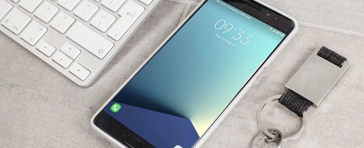 Mercury iJelly Samsung Galaxy Note 7 Gel Case - Metallic Silver
