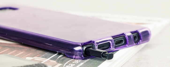 Olixar FlexiShield Samsung Galaxy Note 7 Gel Case - Purple