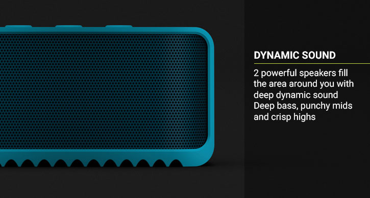 Jabra Solemate Mini Wireless Bluetooth Speaker - Blue