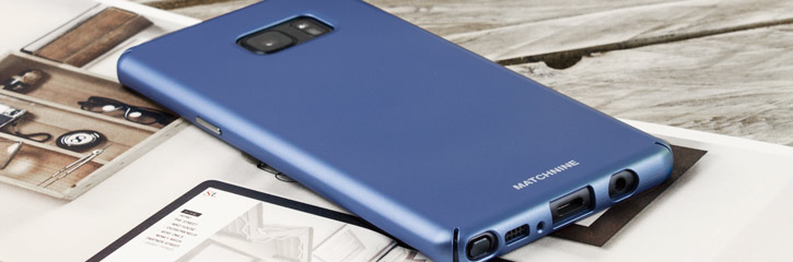 Matchnine Hori Samsung Galaxy Note 7 Slim Case - Blue Coral