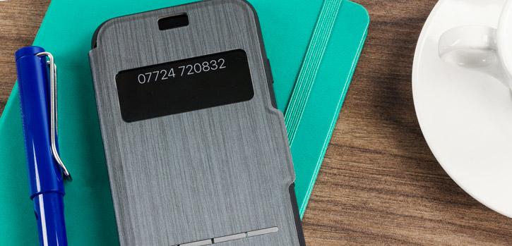 Moshi SenseCover iPhone 8 / 7 Smart Case - Charcoal Black