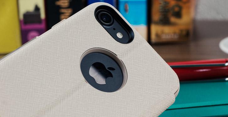 Moshi SenseCover iPhone 8 / 7 Smart Case - Stone White