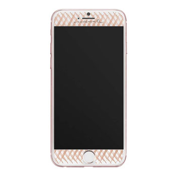 Case-Mate iPhone 7 Gilded Glass Screen Protector - Rose Gold