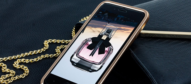 Prodigee Fancee iPhone 7 Plus Glitter Case - Rose Gold