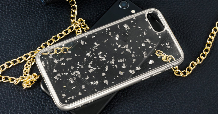Prodigee Scene Treasure iPhone 7 Case - Silver Sparkle