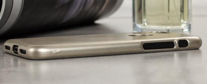 Mercury iJelly iPhone 7 Gel Case - Gold