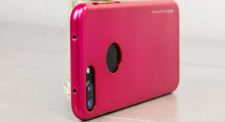 Mercury iJelly iPhone 7 Plus Gel Case - Hot Pink