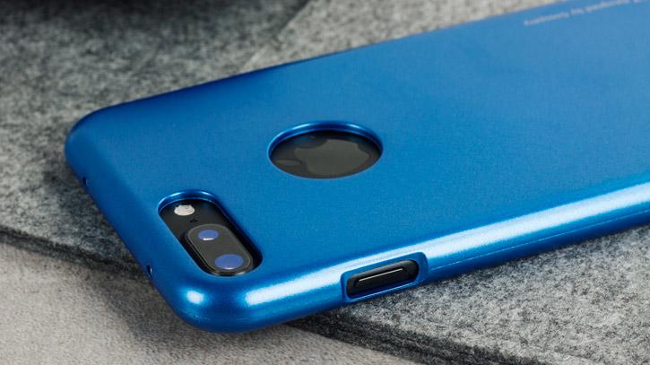 Mercury iJelly iPhone 7 Plus Gel Case - Blue