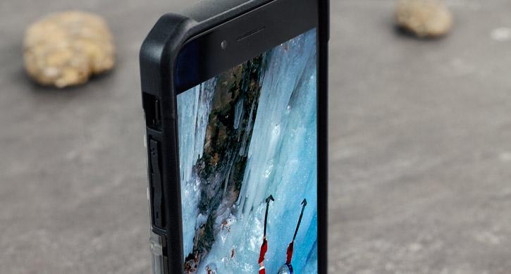 UAG Plasma iPhone 7 Protective Case - Ash / Black
